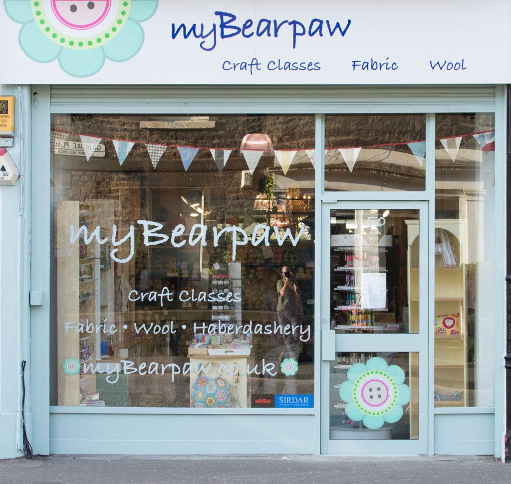 The myBearpaw store in Edinburgh