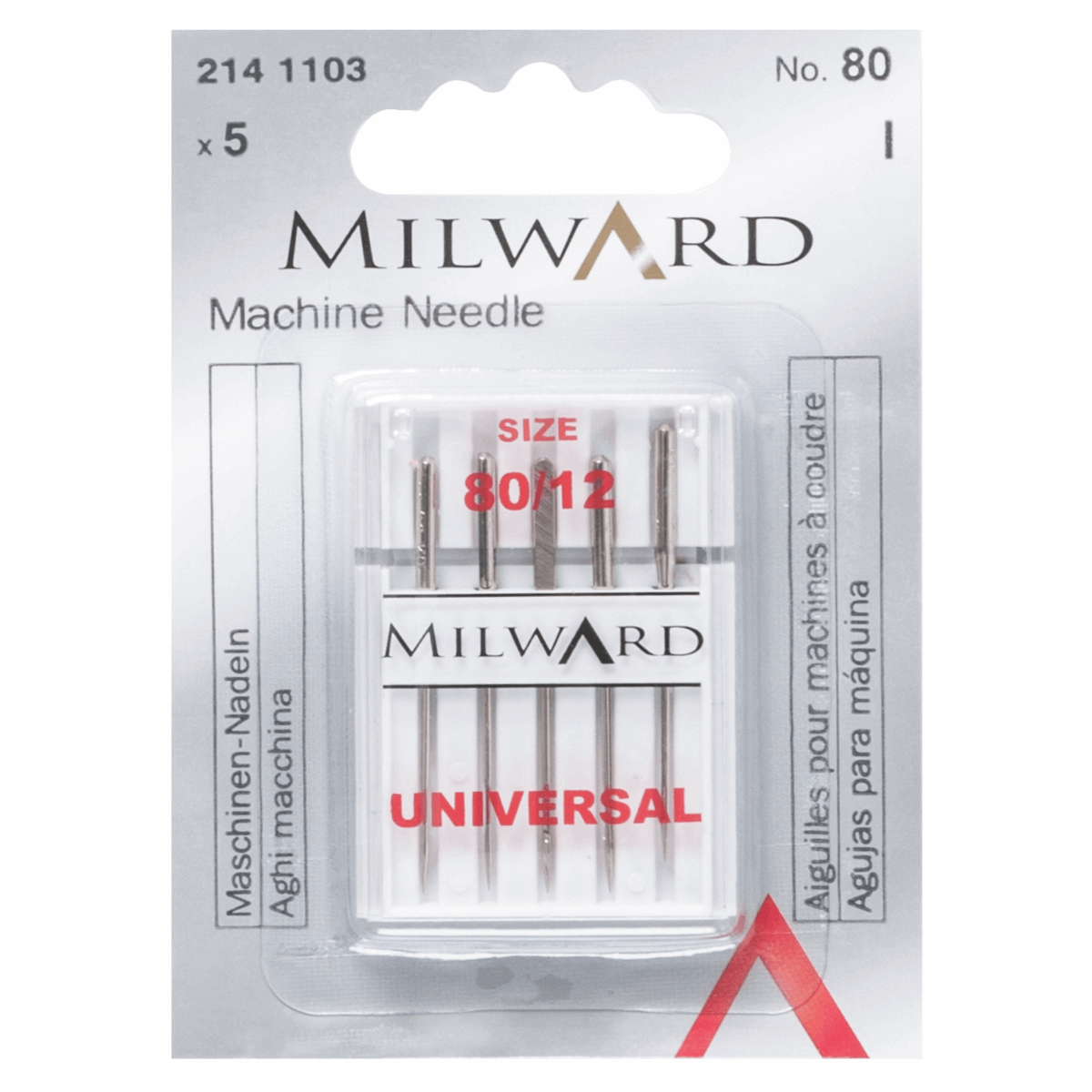 Milward Universal Sewing Machine Needles